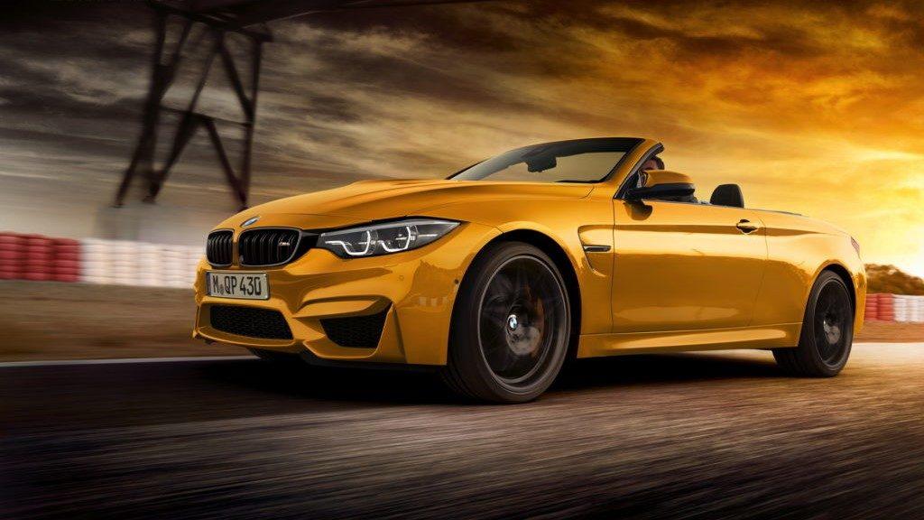 La BMW M4 Cabrio avrà un tettuccio in tela