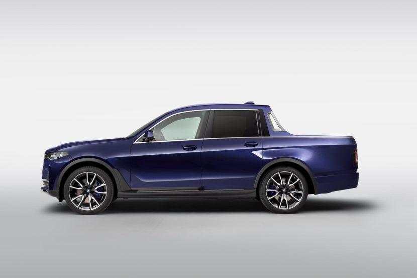 BMW presenta un unico quanto strano BMW X7 pickup!