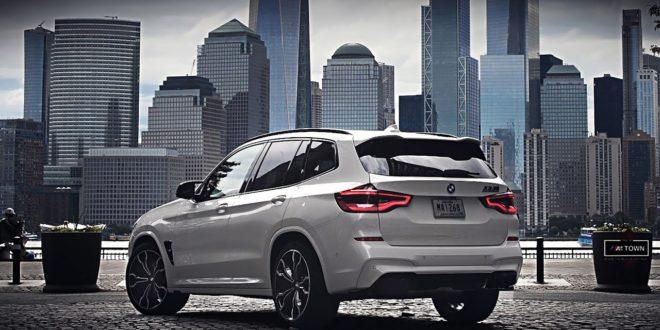 La nuova BMW X3 M va a New York