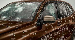 Ecco la resistentissima BMW X5 Protection VR6
