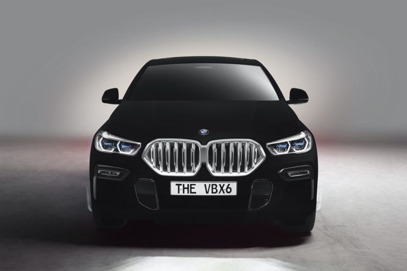 A Francoforte esordirà anche la BMW VBX6 Vantablack