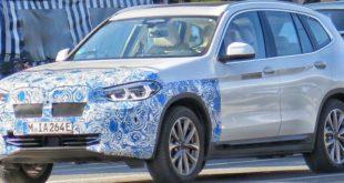 la BMW iX3 arriverà prima in Europa, nel 2020