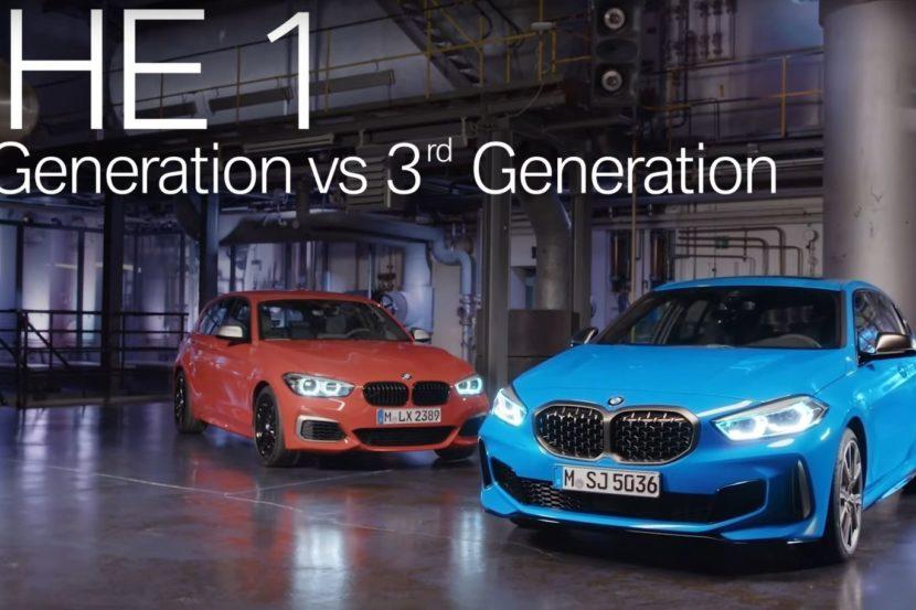 Stavolta il confronto con le precedenti generazioni della BMW Serie 1 lo fa BMW!
