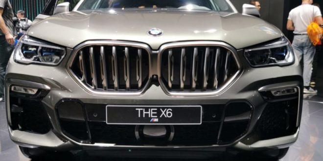 Ecco la nuovissima BMW X6 M50i presentata a Francoforte!