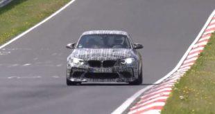 La BMW M2 CS sembra non finire mai la fase di test!