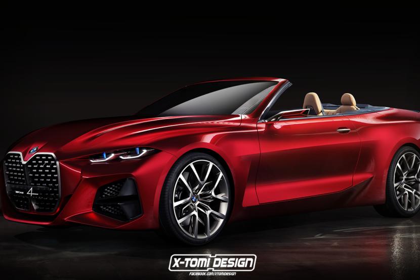 Che ne dite di questa BMW Concept 4 cabrio?
