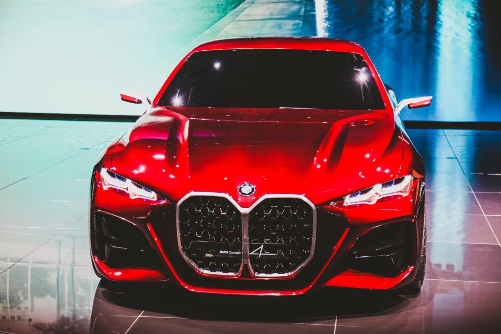 Ecco in carne ed ossa la BMW Concept 4!