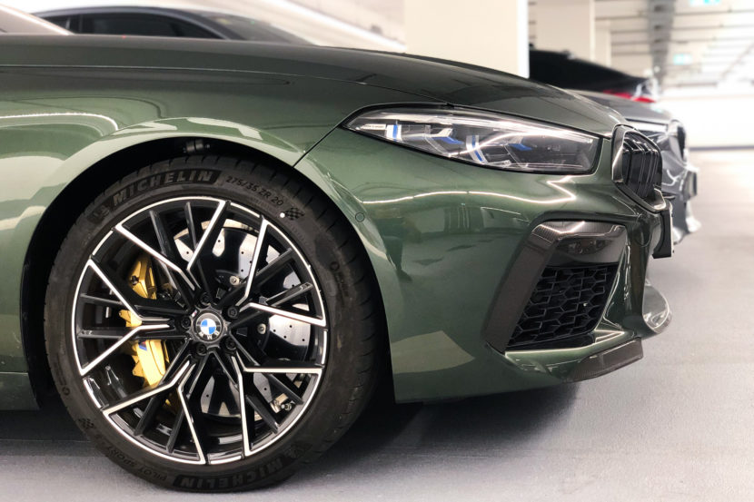 BMW M8 Competition color urban green, davvero stupenda!