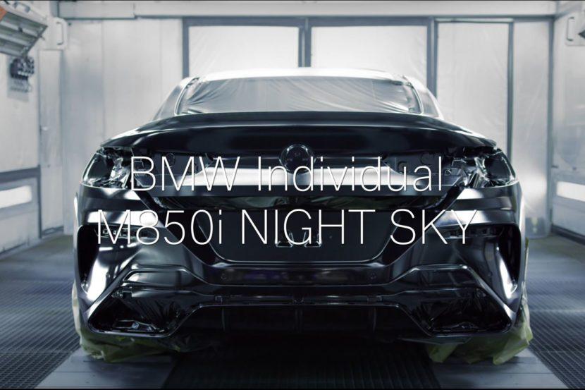 Ecco come viene fatta la fantastica BMW M850i Night Sky