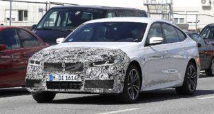 Ecco le prime foto della BMW Serie 6 GT Restyling