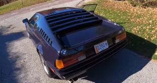 Ecco un bel video POV della storica BMW M1