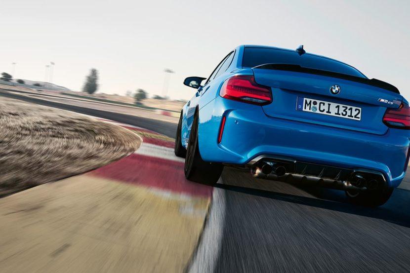 La BMW M2 CS è più veloce di molte supercar sul circuito di Sachsenring